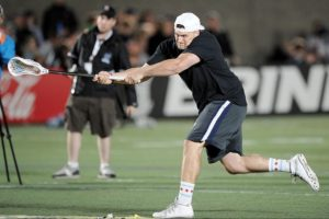 Zach Dorn Breaking the Fastest Shot Record with 116 mph!  via insidelacrosse.com