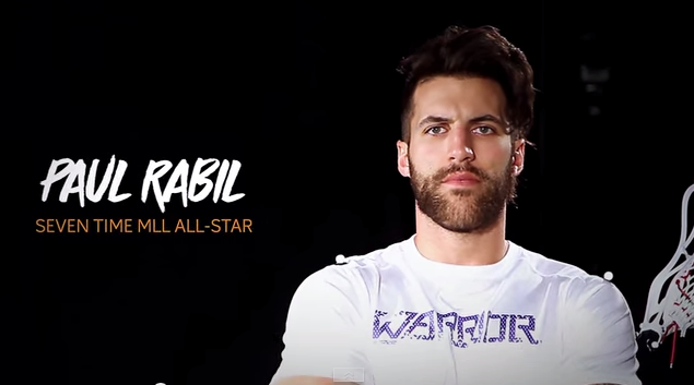 7 x MLL All Star Paul Rabil