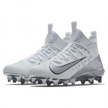 Nike Alpha Huarache 6 Elite LE Silver Metallic Cleat