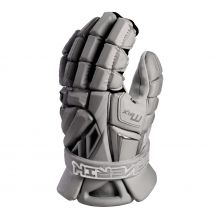 Maverik MAX 2022 Lacrosse Glove-Grey-Medium 12""