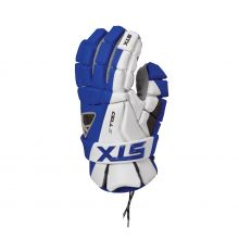 STX Cell IV Lacrosse Glove-Royal Blue-Small 10""