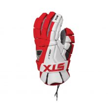 STX Cell IV Lacrosse Glove-Red-Small 10""