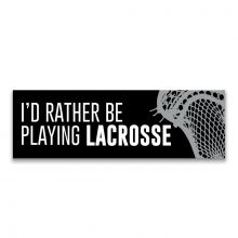 Playing Lacrosse Room Sign