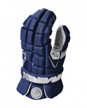 Maverik M4 Lacrosse Glove-Navy Blue-Large 13""