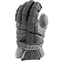 Maverik MAX Lacrosse Glove-Grey-Medium 12""