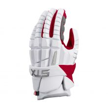 STX Surgeon RZR Lacrosse Glove-Red-Medium 12""