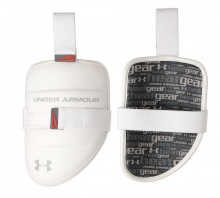 Under Armour Command Pro White Box Lacrosse Bicep Pads