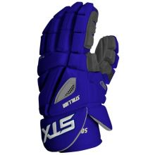STX Stallion 500 Lacrosse Gloves-Royal Blue-Medium 12""
