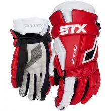 STX Cell 3 Lacrosse Glove-Red-Small 10""
