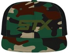 STX Camo 3D Branded Trucker Hat