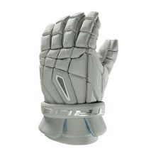 True Frequency Lacrosse Glove-Grey-Medium 12""