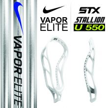 STX Stallion U 550 - Nike Vapor Elite Attack Shaft Complete Stick