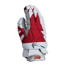 Nike Vapor Elite Lacrosse Glove 2021-Red-Medium 12""