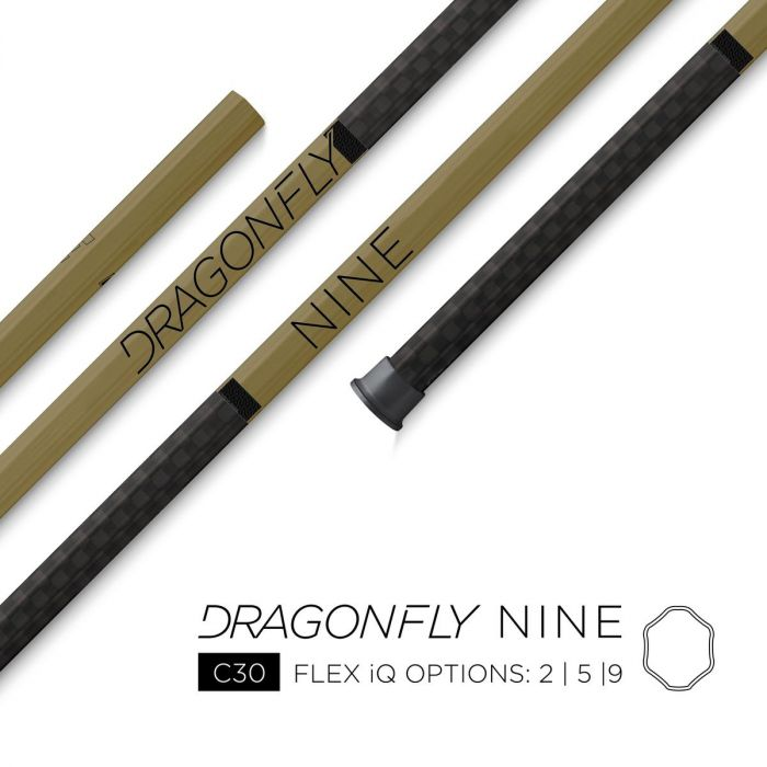 Epoch Dragonfly 9 LE Gold Attack Lacrosse Shaft