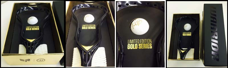 Lists @ $200 NEW Warrior Rabil 2 Limited Edition Gold Unstrung Lacrosse Head