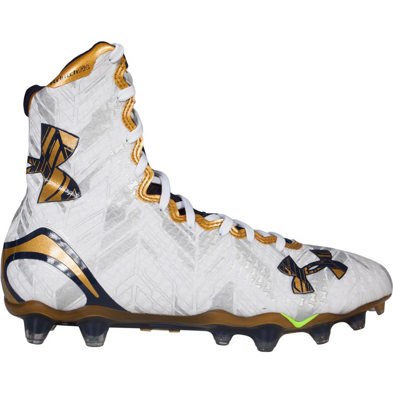 4d4083aa5 Notre Dame Limited Edition Under Armour Highlight MC Cleats ...