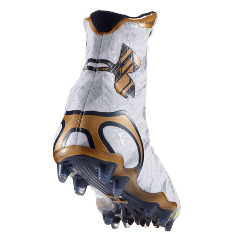 super popular 4d036 acddb Notre Dame Limited Edition Under Armour Highlight MC Cleats ...