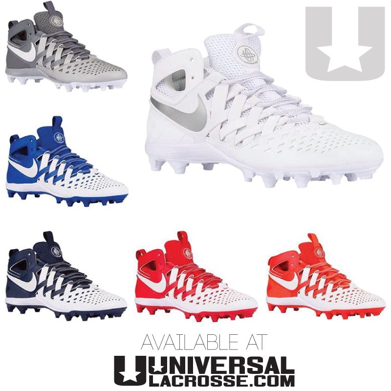 ef189936f643 NEW Nike Huarache 5 Lacrosse Cleats