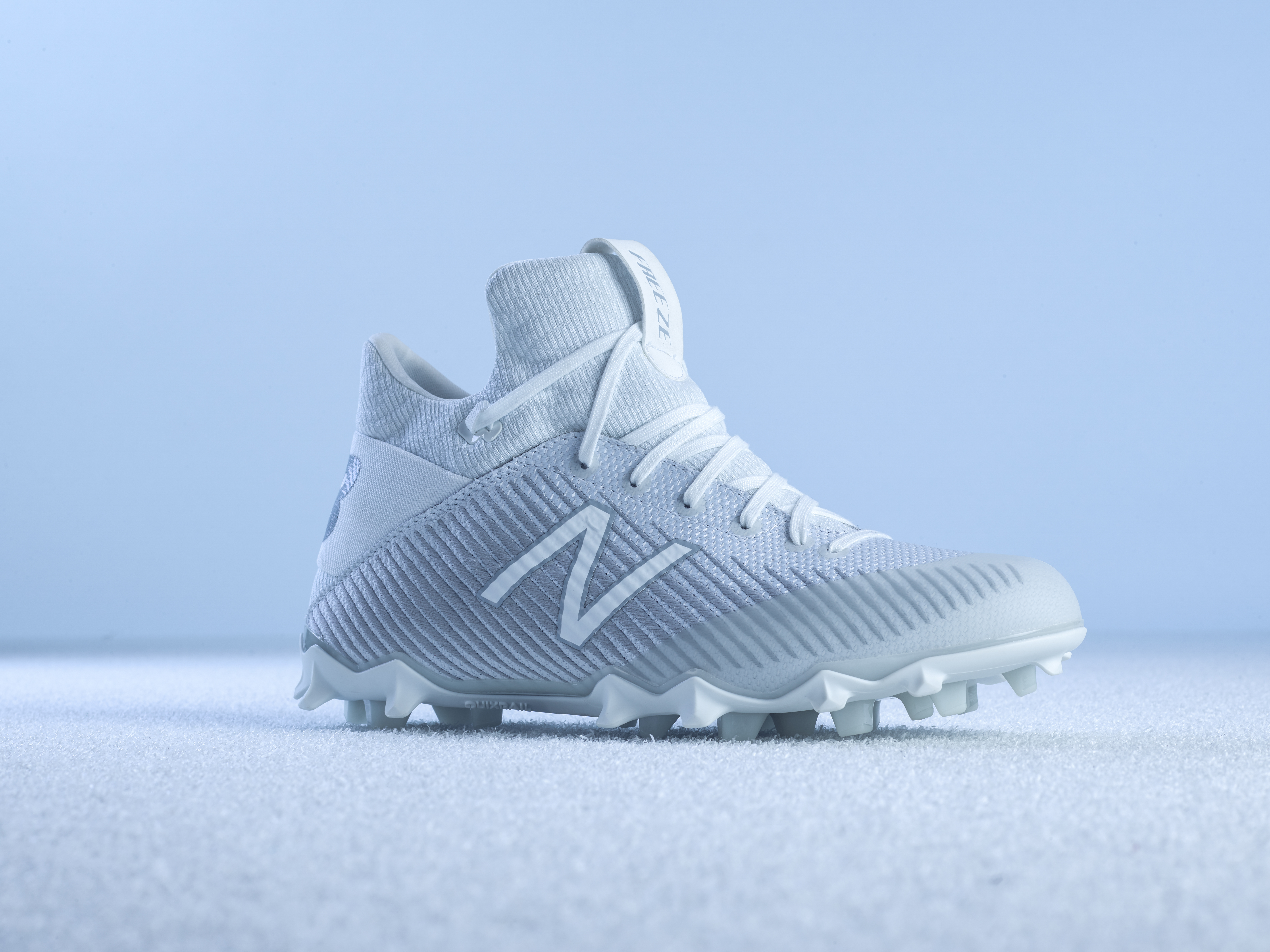 41490477c The Freeze 2.0 delivers incredible traction on the field thanks to New  Balance's QuikRail stud design. QuikRail was designed to provide maximum  traction at ...